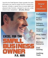 Excel for the Small Business Owner ebook by Hari, P. K.