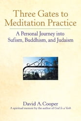 Three Gates to Meditation Practices - A Personal Journey into Sufism, Buddhism and Judaism ebook by Rabbi David A. Cooper