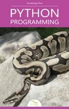 Python Programming ebook by Knowledge flow