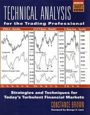 Technical Analysis for the Trading Professional ebook by Brown