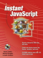 Instant JavaScript ebook by Webb, Martin