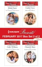 Harlequin Presents February 2017 - Box Set 2 of 2 - The Consequence of His Vengeance\Bought to Wear the Billionaire's Ring\Bride by Royal Decree\Acquired by Her Greek Boss ebook by Jennie Lucas, Cathy Williams, Caitlin Crews,...