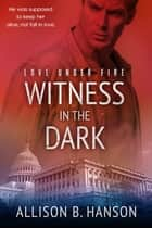 Witness in the Dark ekitaplar by Allison B. Hanson