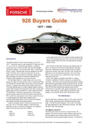 Porsche 928 Buying Guide ebook by Mellor, Chris