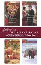 Love Inspired Historical November 2017 Box Set - A Lawman for Christmas\Mail-Order Christmas Baby\Their Mistletoe Matchmakers\A Child's Christmas Wish ebook by Karen Kirst, Keli Gwyn, Sherri Shackelford,...