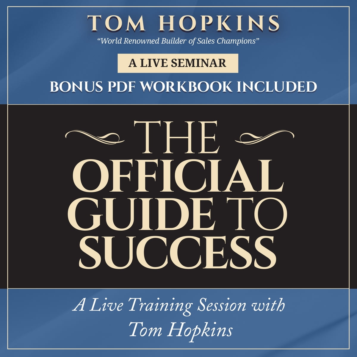 The Official Guide to Success Audiobook by Tom Hopkins ...