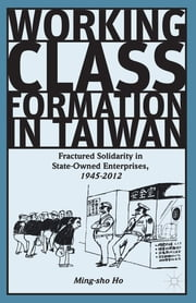 Working Class Formation in Taiwan - Fractured Solidarity in State-Owned Enterprises, 1945-2012 ebook by Ming-sho Ho