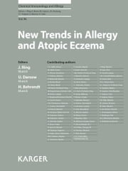 NEW+TRENDS+IN+ALLERGY+AND+ATOPIC+ECZEMA