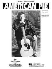 American Pie Sheet Music ebook by Don McLean