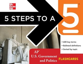 5 Steps to a 5 AP U.S. Government and Politics Flashcards ebook by Pamela K. Lamb
