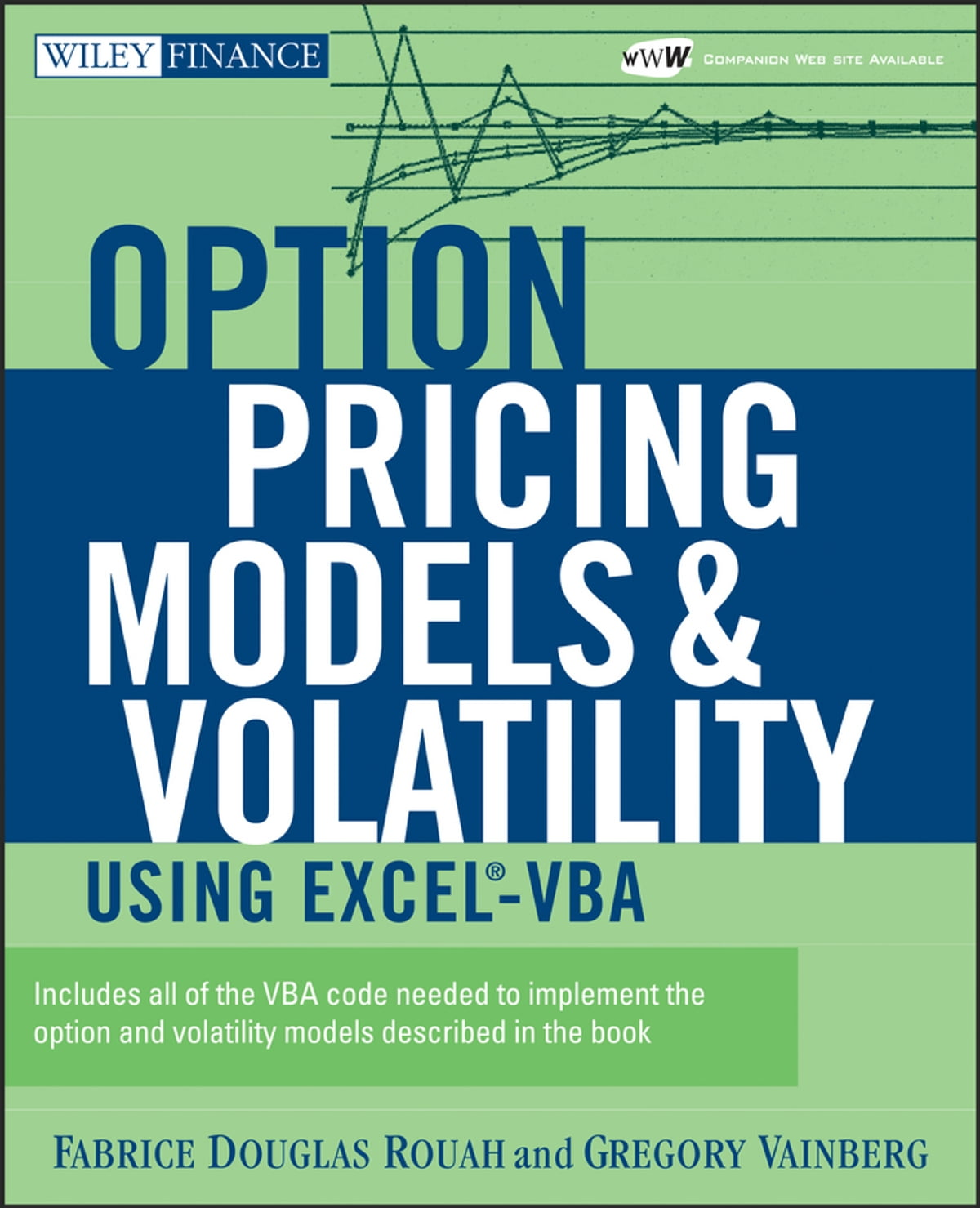 Option pricing models and volatility using excel vba ebook by fabrice d rouah 9781118429204 rakuten kobo