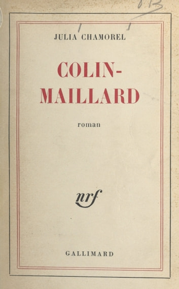 Colin-maillard ebook by Julia Chamorel