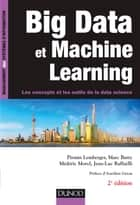 Big Data et Machine Learning - 2e éd. ebook by Pirmin Lemberger, Marc Batty, Médéric Morel,...