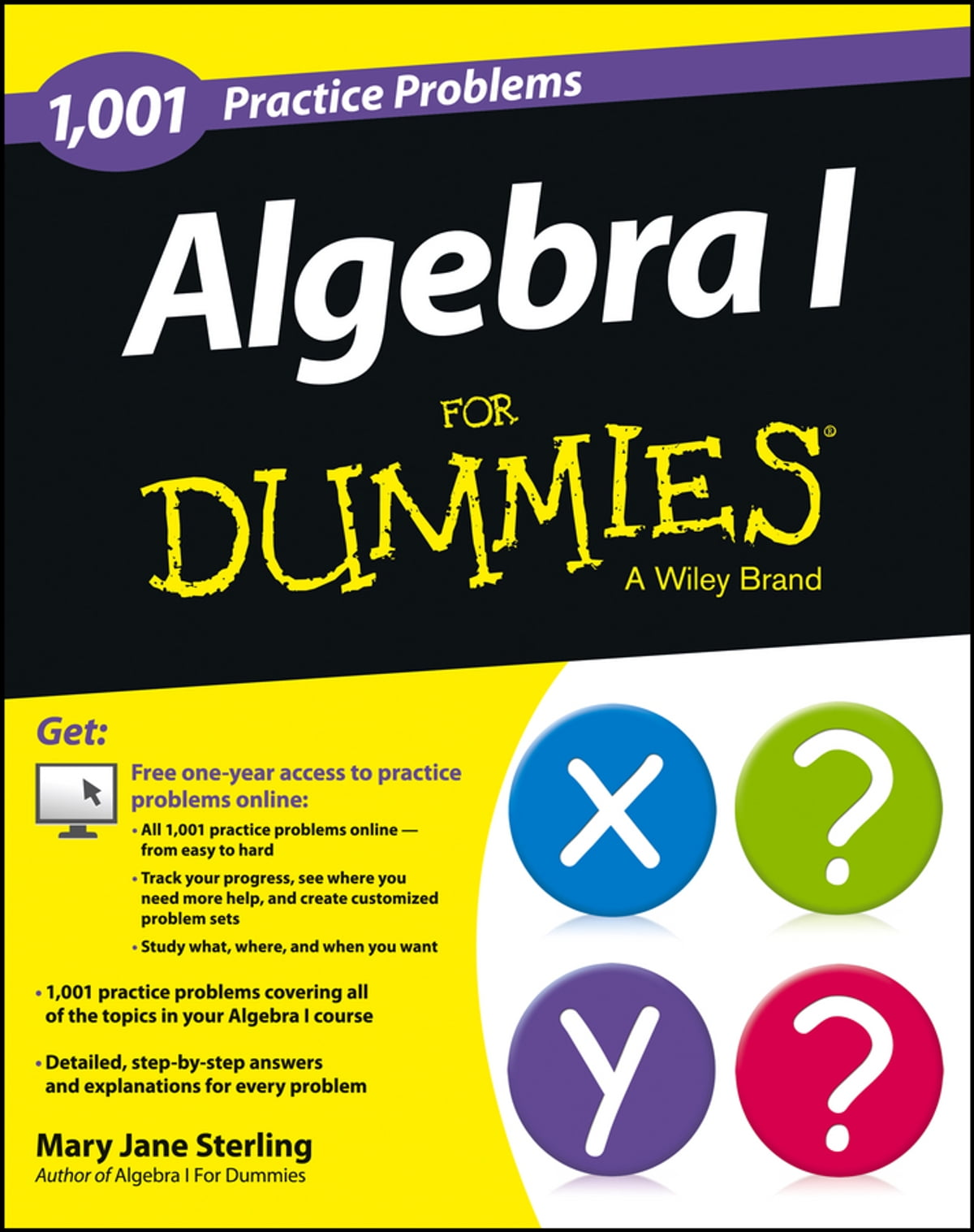 Algebra I: 1,001 Practice Problems For Dummies (+ Free Online ...
