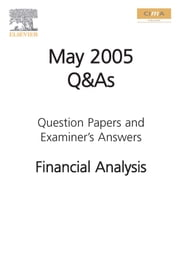 Cima May 2005 Q&A Financial Analysis ebook by Cima