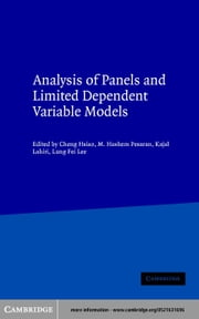 Analysis of Panels and Limited Dependent Variable Models ebook by Hsiao, Cheng