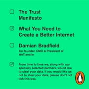 The Trust Manifesto - What you Need to do to Create a Better Internet audiobook by Damian Bradfield