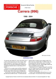 Porsche 996 Buying Guide ebook by Mellor, Chris