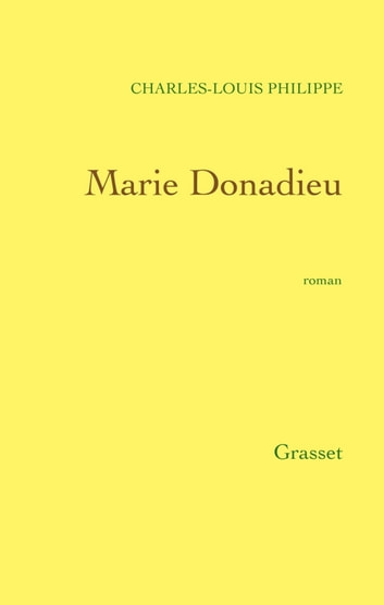Marie Donadieu ebook by Charles-Louis Philippe