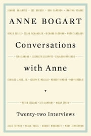 Conversations with Anne ebook by Anne Bogart