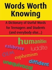 Words Worth Knowing ebook by Nicholls, Richard John