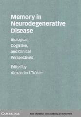 Memory in Neurodegenerative Disease ebook by Tr¿ster, Alexander I.