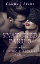 Snatched - Part 3 - A Gothic Billionaire Series ebook by Candy J Starr