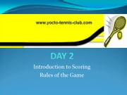 Master in 5 Days (Tennis Coaching Course) : Day 2 - A GUIDE ON TENNIS RULES AND SCORING ebook by Umer Malik