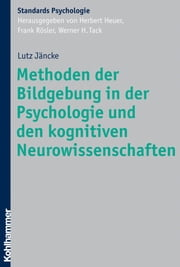 Methoden der Bildgebung in der Psychologie und den kognitiven Neurowissenschaften ebook by Kobo.Web.Store.Products.Fields.ContributorFieldViewModel