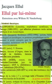 Ellul par lui-même ebook by Willem H. Vanderburg,Jacques Ellul