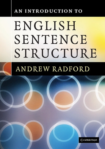 An Introduction to English Sentence Structure ekitaplar by Andrew Radford