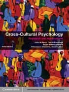 Cross-Cultural Psychology - Research and Applications eBook by John W. Berry, Ype H. Poortinga, Seger M. Breugelmans,...