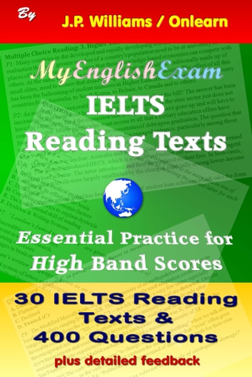 IELTS Reading Texts: Essential Practice for High Band Scores ebook by J.P. Williams