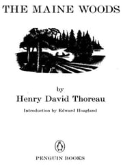 The Maine Woods ebook by Henry David Thoreau,Edward Hoagland