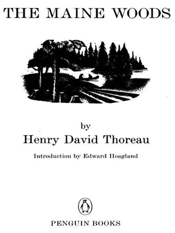 The Maine Woods ebook by Henry David Thoreau