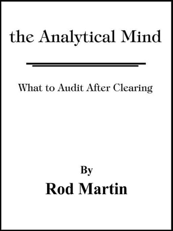 The Analytical Mind ebook by Rod Martin