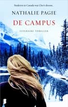 De campus - Studeren in Canada was Cleo's droom... eBook by Nathalie Pagie