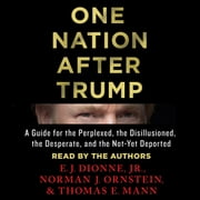 One Nation After Trump - A Guide for the Perplexed, the Disillusioned, the Desperate, and the Not-Yet Deported audiobook by E.J. Dionne Jr., Norman J. Ornstein, Thomas E. Mann