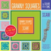 Granny Squares, One Square at a Time / Scarf - Granny Square Scarf ebook by Margaret Hubert