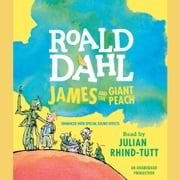 James and the Giant Peach audiobook by Roald Dahl