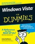 Windows Vista For Dummies ebook by Andy Rathbone
