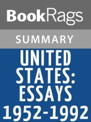 United States: Essays 1952-1992 by Gore Vidal Summary & Study Guide ebook by BookRags