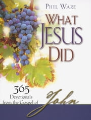 What Jesus Did - 365 Devotionals from the Gospel of John ebook by Phil Ware