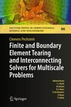Finite and Boundary Element Tearing and Interconnecting Solvers for Multiscale Problems ebook by Clemens Pechstein