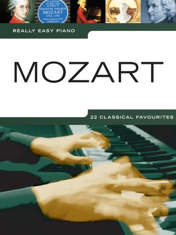 Really Easy Piano Mozart ebook by Wise Publications