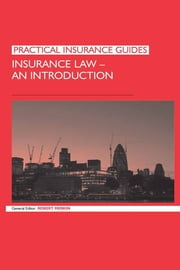 Insurance Law: An Introduction ebook by Robert Merkin