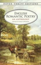 English Romantic Poetry - An Anthology 電子書 by Stanley Appelbaum