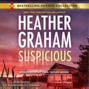 Suspicious - w/ Bonus Story: The Sheriff of Shelter Valley audiobook by Heather Graham, Tara Taylor Quinn