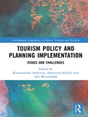 Tourism Policy and Planning Implementation - Issues and Challenges ekitaplar by Konstantinos Andriotis, Dimitrios Stylidis, Adi Weidenfeld