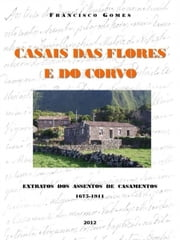 Casais das Flores e do Corvo ebook by Francisco Gomes